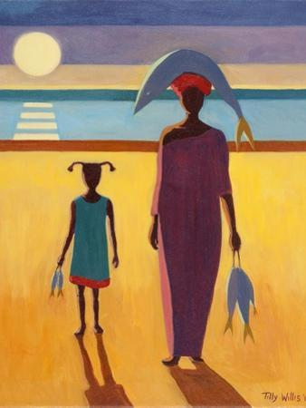 Woman with Fish by Tilly Willis