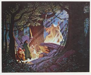 Gandalf the White by Tim and Greg Hildebrandt