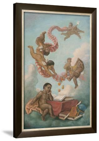 Cherubs Studying by Tim Ashkar