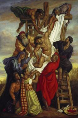 Descent from the Cross by Tim Ashkar