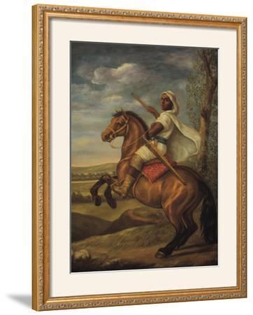 Moorish Chieftain on Horseback by Tim Ashkar