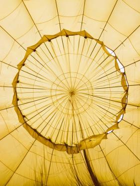 Inside of an Inflating Hot-Air Balloon by Tim Barker