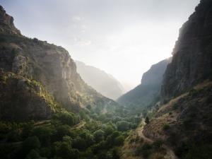 Qadisha Valley from Path Towards Bcharre by Tim Barker
