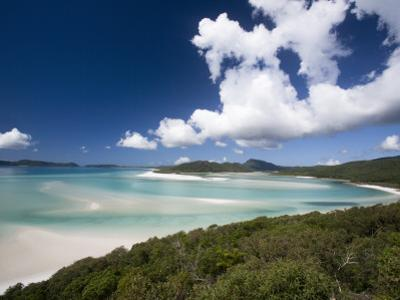 Whitehaven Beach from the Lookout on Whitsunday Island by Tim Barker