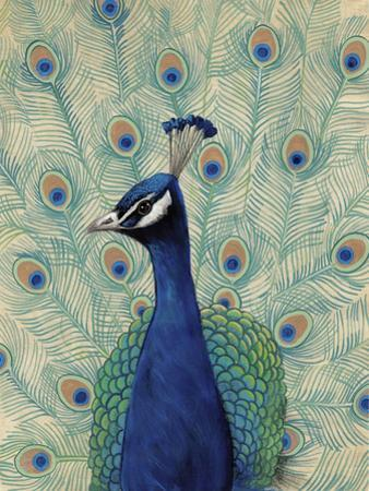 Blue Peacock II by Tim
