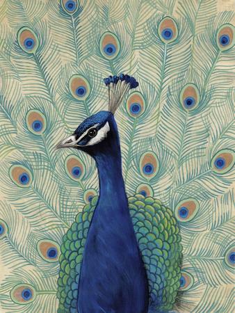 Blue Peacock II