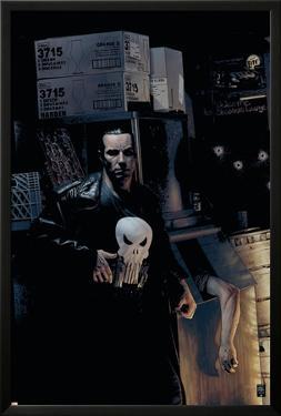 Punisher No.9 Cover: Punisher by Tim Bradstreet