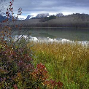 Autumn Scenic at Little Redfish Lake, Sawtooth National Recreation Area, Idaho by Tim Fitzharris