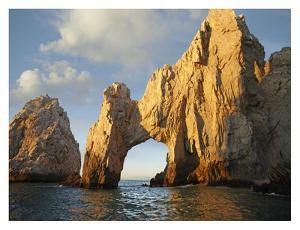 El Arco and sea stacks, Cabo San Lucas, Mexico by Tim Fitzharris