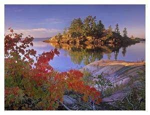 Island in Georgian Bay, Lake Huron, Killarney Provincial Park, Ontario by Tim Fitzharris