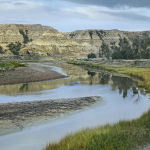 Little Missouri River, Theodore Roosevelt National Park, North Dakota by Tim Fitzharris