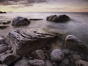 Log dump beach, Bruce Peninsula National Park, Ontario, Canada by Tim Fitzharris