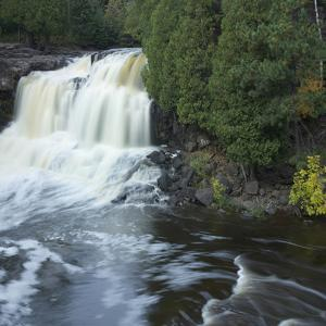 Middle Falls at Gooseberry Falls State Park, Minnesota by Tim Fitzharris