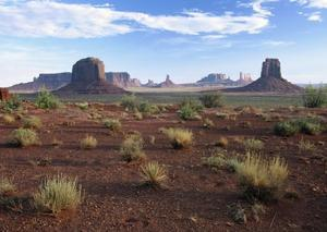 Monument Valley from north window viewpoint, Arizona by Tim Fitzharris