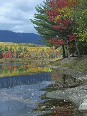 Mount Katahdin over Abel Creek, Baxter State Park, Maine by Tim Fitzharris