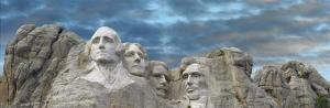 Mount Rushmore National Monument near Keystone, South Dakota by Tim Fitzharris