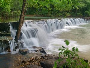 Natural Falls, Lee Creek, Arkansas, USA by Tim Fitzharris
