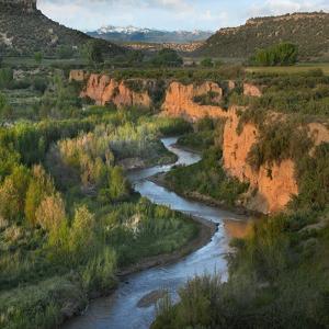 San Juan Mountains and Mcelmo Creek Near Cortez, Colorado, Usa by Tim Fitzharris
