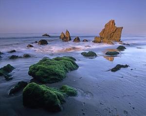 Seastacks on El Matador State Beach, Malibu, California by Tim Fitzharris