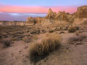 Sunset at Kaiparowits Plateau, Utah by Tim Fitzharris