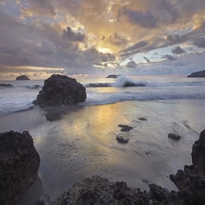Sunset Light on the Clouds over the Ocean, Manuel Antonio National Park, Costa Rica