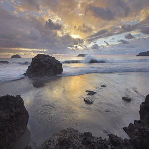 Sunset Light on the Clouds over the Ocean, Manuel Antonio National Park, Costa Rica by Tim Fitzharris