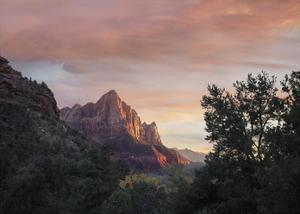 The Watchman, Zion National Park, Utah by Tim Fitzharris