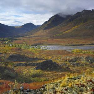 Tombstone Range and North Klondike River, Tombstone Territorial Park, Yukon Territory, Canada by Tim Fitzharris