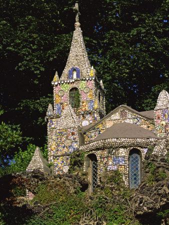 Decorated Little Chapel, Guernsey, Channel Islands, United Kingdom, Euruope