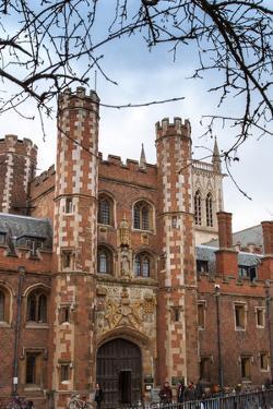 Cambridge University College by Tim Kahane