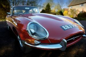 E-Type Jaguar by Tim Kahane