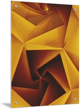 Golden Geometric Pentagons by Tim Kahane