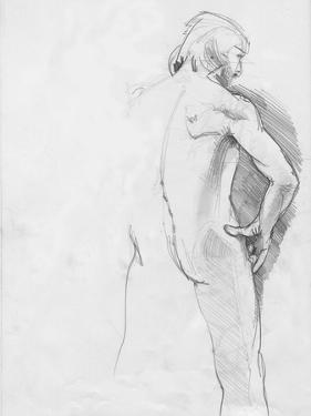 Male Life Model by Tim Kahane