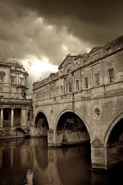 Pulteney Bridge, Bath, England by Tim Kahane