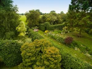 Scenic View of Country Garden by Tim Kahane