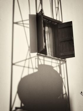 Window with Shadows by Tim Kahane