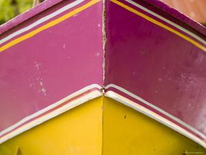 Closeup of a Colorful Boat, French Polynesia by Tim Laman