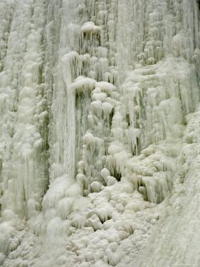 Frozen Waterfall on Plotterkill River by Tim Laman