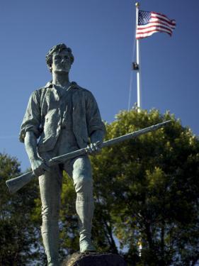 Minuteman Statue at Battle Green in Lexington, Massachusetts by Tim Laman