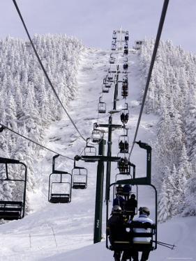 Ski Lift at a Resort by Tim Laman