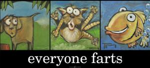 Everyone Farts Poster by Tim Nyberg