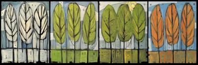 Four Seasons Tree Series Horizontal by Tim Nyberg