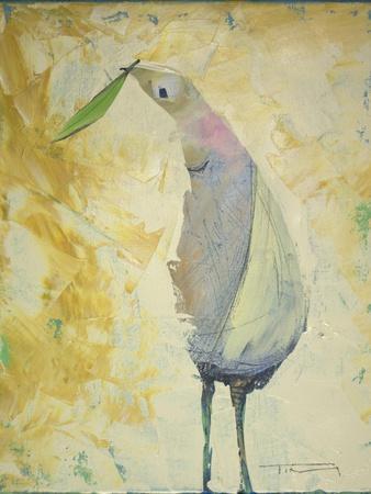 Looking Back Peace Bird