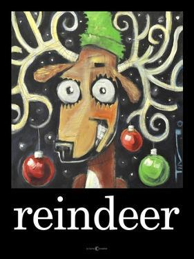 Reindeer Poster by Tim Nyberg