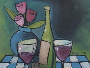 Wine and Flower by Tim Nyberg