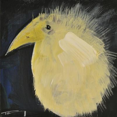 Yellow Fuzzy Bird