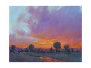 Fiery Sunset I by Tim O'toole