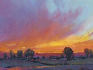 Fiery Sunset II by Tim O'toole