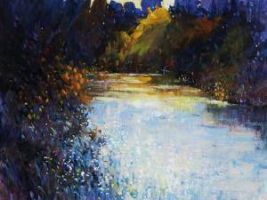 Glimmering Riverside by Tim O'toole