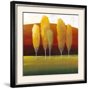 Glowing Trees II by Tim O'toole